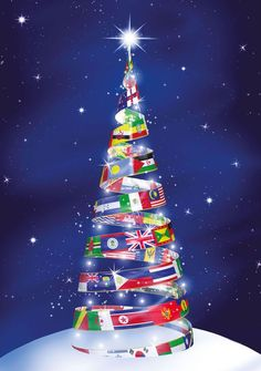 Tree of the World This striking, contemporary tree is adorned with ...