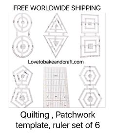 diamond ruler quilting ruler diamond template patchwork