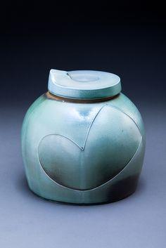 Pot with Lid by potter Ryan McKerley of Austin, TX.  ryanmckerley.com