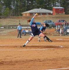 Fast Pitch softball -- 1 of South Carolina's 2006 All State Pitchers