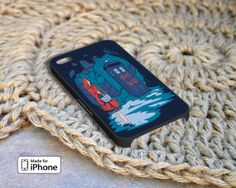 Little Red Riding Hood Tardis Case For iPhone 4/4S by 29MyAge, $13.99