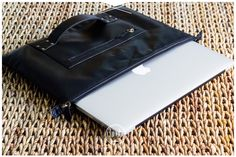 The Macbook leather case, clutch & shoulder bag from @Chivote £79.99 #leather #apple #bag #fashion www.chivote.com