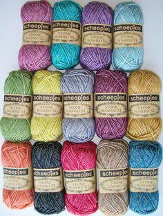 Scheepjeswol Stone Washed XL 78% cotton, 22% acryllic