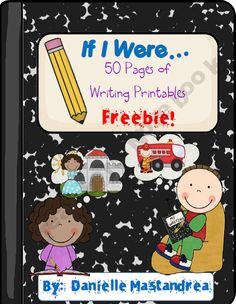 """If I Were"" Writing Printables- FREE! Cute idea for the writing center. Writing Lessons, Writing Resources, Teaching Writing, Writing Activities, Teaching Ideas, Reading Strategies, Writing Skills, Teaching Resources, Math Journal Prompts"