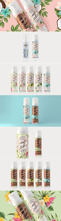 Get Freshly Baked With This Tropical-Inspired Self Tanner — The Dieline | Packaging & Branding Design & Innovation News