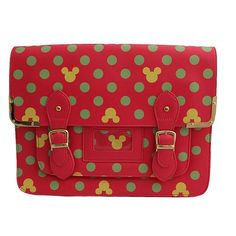 Pink Mickey Mouse Crossbody Bag