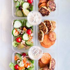 Chicken Patty Meal Prep