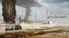 """Harvest"" by Richard Tilbury. #sciencefiction #scifi"