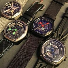 Dietrich | The entire OT lineup at #RedBarCrew in NYC last week. Which is your favorite? #dietrich #organictime #wristwear