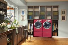 Electrolux Laundry. What a Dream, I would do laundry everyday.