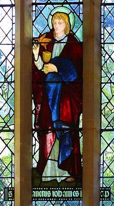 St. John by Edward Burne Jones