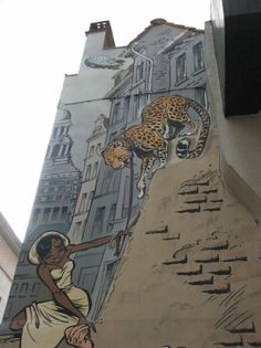 Unique Belgian Street Art.. . #streetart
