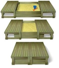 DIY: Sliding Closure Sandbox / baby time! - Juxtapost