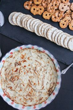 Hot Onion Cheese Dip | The Chef Next Door #ad #Stonyfield