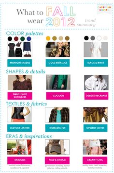 Cardigan Empire: What to Wear: Fall 2012 Trend Summary