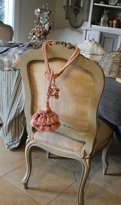 French country needs a tassel