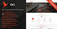 This Deals Ori – Multi-purpose Business PSD TemplateWe provide you all shopping site and all informations in our go to store link. You will see low prices on