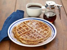Get Applesauce Waffles Recipe from Food Network