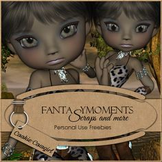 Poser Tubes Freebie | Fantasymoments: Poser Tubes Cookie Cowgirl