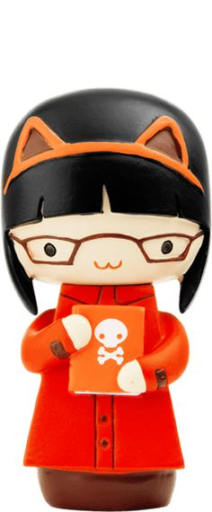The official home of Momiji message dolls. Buy the latest dolls and see the full collection of over 200 kawaii characters. Momiji Doll, Kokeshi Dolls, Cute Cartoon Pictures, Cute Pictures, Wooden Cat, Kawaii Doll, Doll Painting, Cat Doll, Wooden Dolls