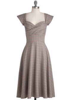I am totally getting this plaid retro dress. It is perfect for fall.