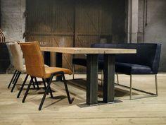 Industriele tafel Alvaro | robuustetafels.nl