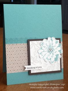 Fab Friday 53; Sympathy Card; Stampin Up; Card Creations by Beth