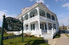 Historic Cape May NJ Hotel Chalfonte Hotel - Phil and I stayed here for our anniversary