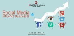 Social Media:- Influence Businesses more info-> http://www.eruditewebsolutions.com/# #InfluenceBusinesses #SocialMedia #SearchEngineMarketing #Seoservices