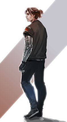 I love his hair and the star on his shirt in this fanart! <3 They did a great job! ^_^