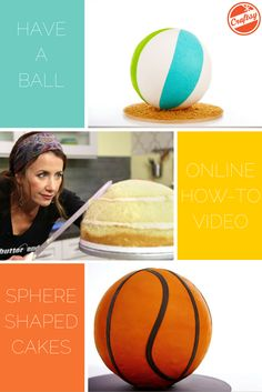 Learn carving and decorating skills to make sensational, spherical cakes simple. Create the perfect cakes for anyone who loves sports or fun in the sun.