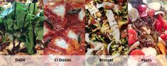 Our 4 newest pizza additions to our menu are the The Dalia, El Diablo, Brussels Sprouts & Pesto. Who gets your vote? www.custompie.com