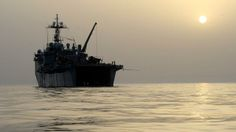 US Navy ready to deploy laser for 1st time: The US Navy's USS Ponce, an afloat forward staging base, takes part ongoing mine countermeas...