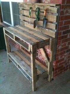 Suncast cedar potting table discontinued pt4500 at the - Buffalo craigslist farm and garden ...