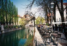 Ljubljana, Slovenia, Lomo LCA, Film, Russian Camera, Photography, Fuji Film, Streets
