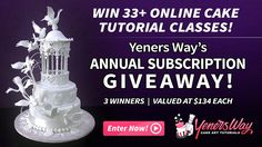 Yeners Way Annual Subscription #Giveaway!