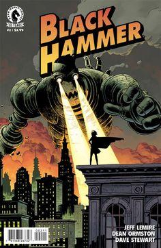 Black Hammer #2 - The Curse of Zafram! (Issue)
