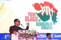 Multi-Industrial Young Entrepreneurs Of From Different Cities Of Gujarat – #YoungGujarat4NewIndia Conclave Organised By CM Shri Vijay Rupani On 3rd May 2017 | Freedom Of Interactive Discussion With Aim Of Fair Governance For Greater Future Of Gujarat