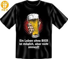 Party T-Shirt - Mallorca Ibiza - Ein Leben ohne BIER ist möglich, aber sinnlos! - Größe S M L XL XXL Größe L - T-Shirts mit Spruch | Lustige und coole T-Shirts | Funny T-Shirts (*Partner-Link)