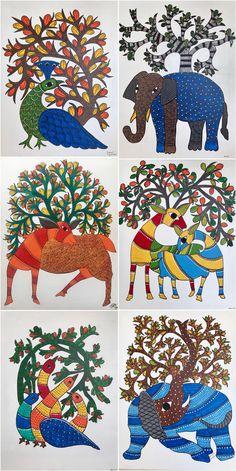 Art by rocking students Colorbook Madhubani Paintings Peacock, Kalamkari Painting, Madhubani Art, Indian Art Paintings, Indian Traditional Paintings, Gond Painting, Rajasthani Art, Polish Folk Art, Mandala Art Lesson