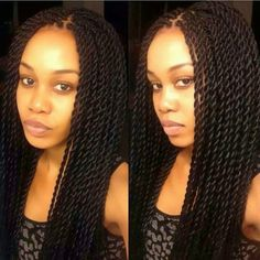 senegalese twist medium size | My all time favourite..... Senegalese twists