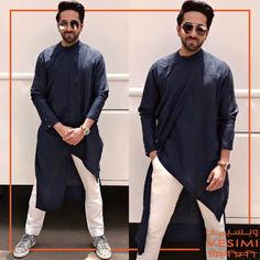 Get The Celebrity Look @vesimi Always surprising with a style ... #ayushmannkhurrana handsome look in #kurta by #antar_agni_ujjawaldubey Shop Online at www.vesimi.com #celebritystyle #bollywoodactorindia #bollywoodfashion #actor