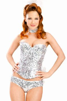 ohmygod In LOVE!!! The cutest burlesque costume ever . . . .