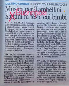 L'Asinone: Alla Nazione, Cronaca di Lucca: l'Oscar della Verg...