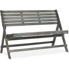 Wilson Outdoor Wood Bench ($249) ❤ liked on Polyvore featuring home, outdoors, patio furniture, outdoor benches, ash grey, outside patio furniture, outdoor wood bench, wooden patio bench, outdoor patio benches и wooden outdoor furniture