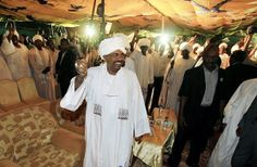 Sudan's President Omar al-Bashir waves to supporters at the NCP Headquarters in Khartoum on April © 2010 Reuters Omar Al Bashir, Human Rights Organizations, Human Rights Watch, Political Leaders, Vladimir Putin, Congo, Crime, Presidents, Face