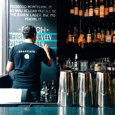 Graffiato for the tasting menu // Washington DC