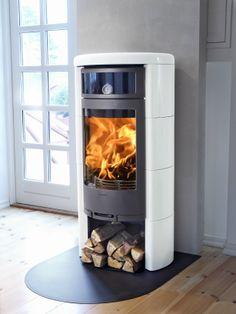 Contura C 660 K - Product in beeld - - UW-haard. Fireplace Showroom, Stove Fireplace, Modern Stoves, Stove Installation, Pellet Stove, Kitchen Stove, Log Burner, Swedish Design, Metal Buildings