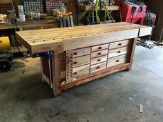under workbench drawers best workbenches images on work benches woodwork shaker 4 inch top homemade end vise all done by me steel