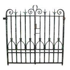PAIR OF MID 19TH C. WROUGHT IRON GATES - UK Architectural Heritage